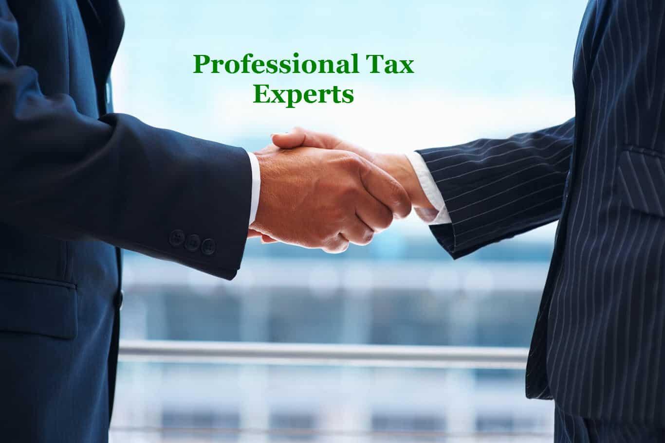 Professional Tax Experts