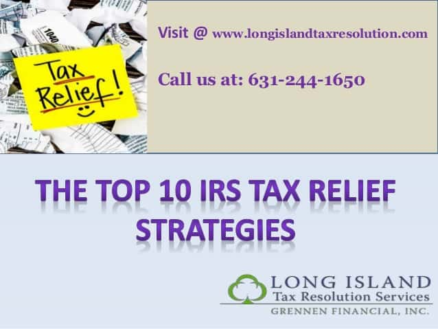 the-top-10-irs-tax-relief-strategies
