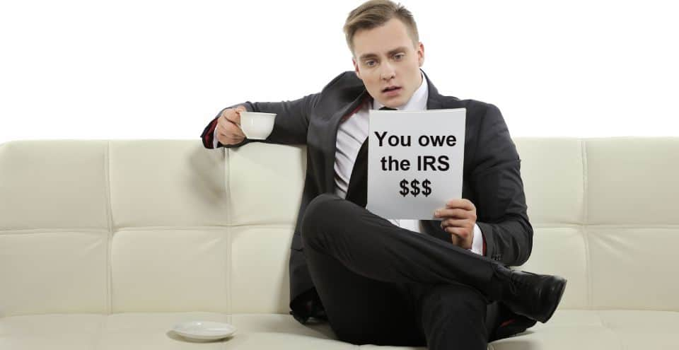 I owe back taxes